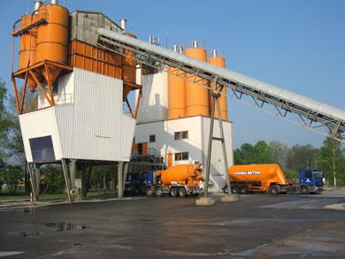 Werk 1 - Weyhe-Dreye<br /> Hansa Beton GmbH &#038; Co. KG Industriestraße 1 28844 Weyhe-Dreye